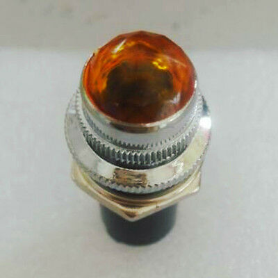 Amber JEWEL 6V PILOT LIGHTS INDICATOR for Preamplifier Amplifier Audio Yellow