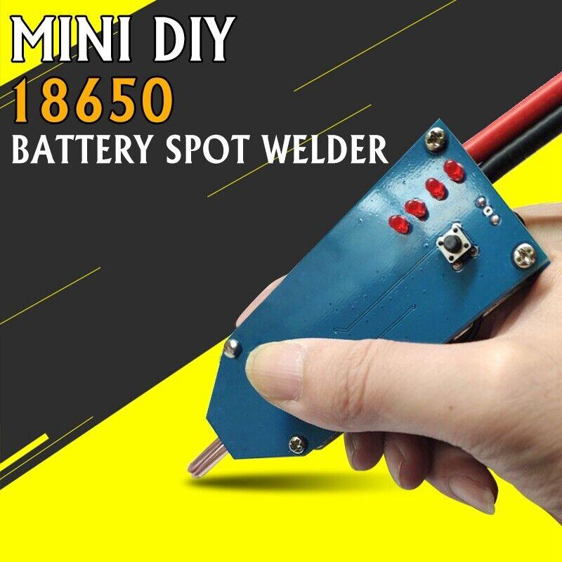 4V-12V Portable Mini DIY Battery Energy Storage Spot Welder Tools Welding Pen