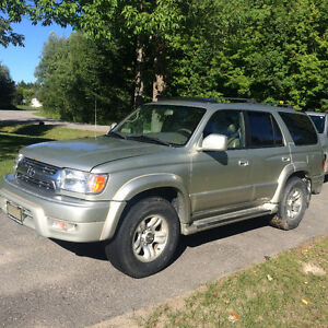 2002 Toyota 4Runner SUV,1200$ pls tax as-is