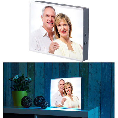Lightbox: LED-Leuchtkasten für individuelle Bilder auf Folie und Papier, DIN A4