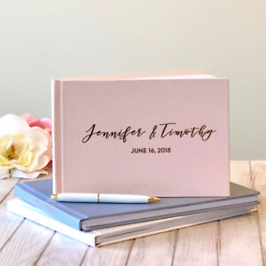 Custom Wedding Guest Books  starting from $75 to $85