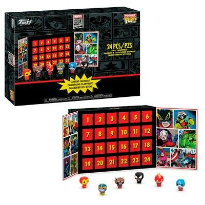 Pocket POP! Calendario Adviento: Marvel: 24 piezas coleccionables