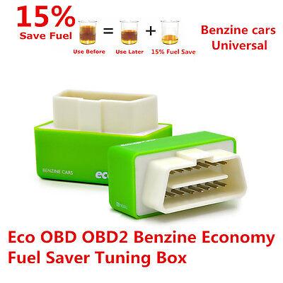 OBD2 OBDII Benzine Economy Fuel Saver Tuning Box Chip For Petrol Car Gas Saving