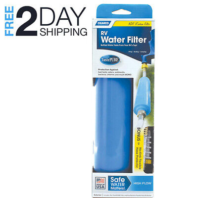 - Water Filter Flexible Hose Protector Healty Drinking RV Trailer Camping Garden