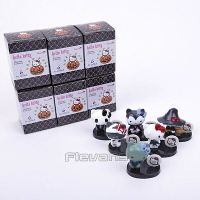Hello Kitty Monsters Collection Halloween PVC Figure Toys 6pcs -FREE SHIPPING