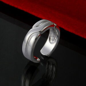 Wholesale Fashion Jewellery Adjustable 925Silver Lady/Men Charm Rings good gift