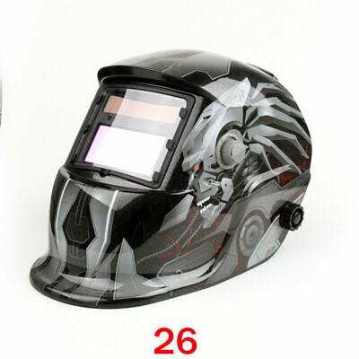 Solar Auto Darkening Welding Helmet Tig Mig Welder Lens Grinding Mask 26 Usa