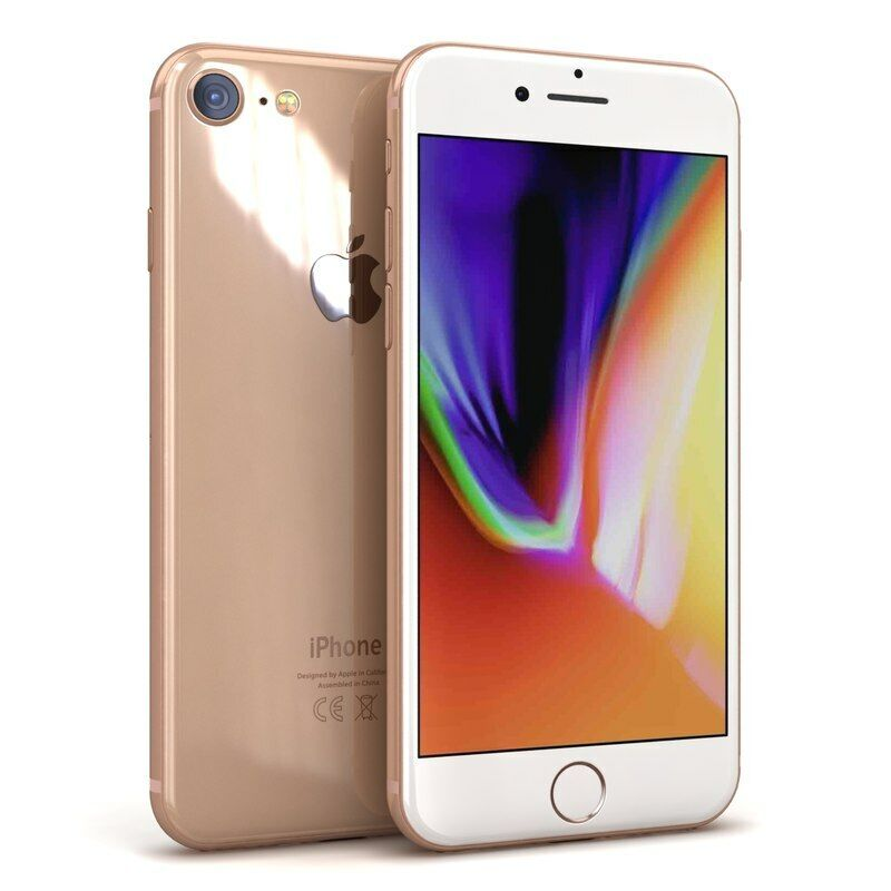 Apple iPhone 8 Gold - 64GB (Unlocked) A1906 (GSM) Smartphone - NEW