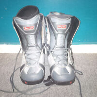 LTD snowboard boots - used once - 20 minutes
