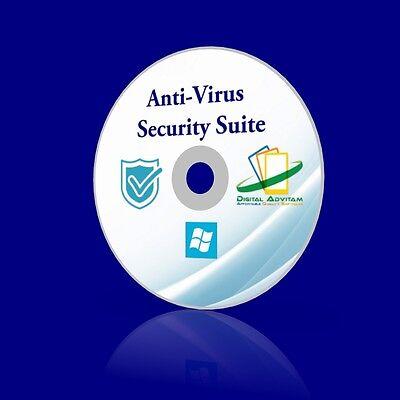 2017 Anti Virus Suite Malware Spyware Virus Trojan Removal Microsoft Windows 10
