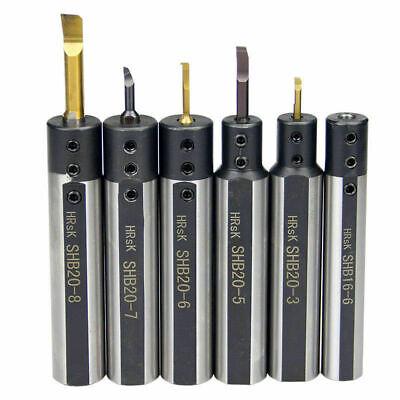 Shb20-6 6 Small Bore Hole Turning Tool Holder Carbide Boring Bar High Quality