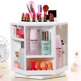 Makeup Organizer Display Stand Cosmetic Organizer Cabinet Box 360° Rotating BP