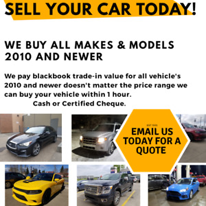 SELL YOUR CAR TODAY AT A FAIR PRICE