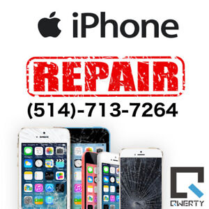 Reparation cellulaire et Tablette iPhone 6s 7 7+ 8 8+ iPad