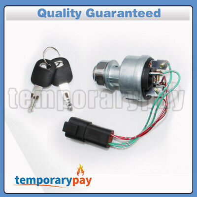 142-8858 New Ignition Switch With 2Keys For CAT D6T 247B D6R Caterpillar 257B, used for sale  Rowland Heights