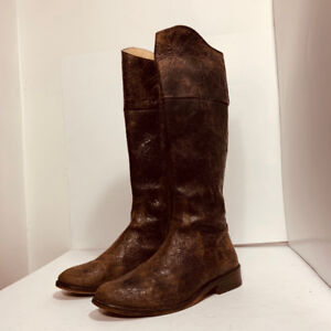 *STEVE MADDEN - leather boots / authentic - size 7.5 US*