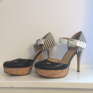 Nine West   cork heel