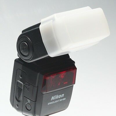 Flash Bounce Diffuser Cap Box Nikon SB-600 Flash **UK SELLER**FAST POST**