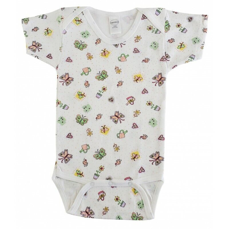 2 pack kite and butterfly bodysuit