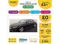 Audi A4 FROM £51 PER WEEK!