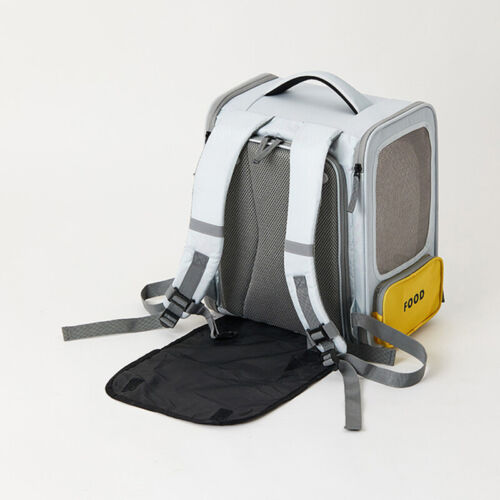 PETKIT Foldable Pet Portable Carrier Backpack Space Tent Mesh Travel Dog Cat Bag - $26.00