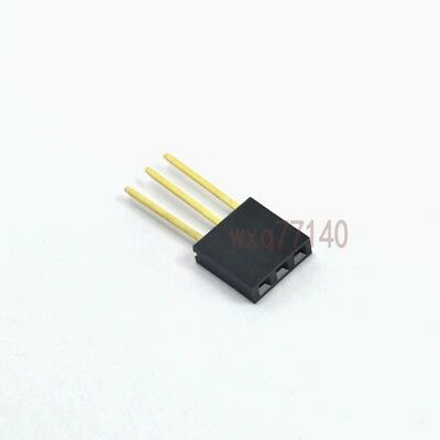 20pcs 0.12.54mm 3 Pin Female Stackable Header For Arduino Shield Socket Pc104
