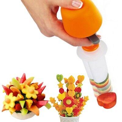 HOT fruitX shape cutter Multi Chopper Vegetable and Fruit Cutter, 6 Cutting form