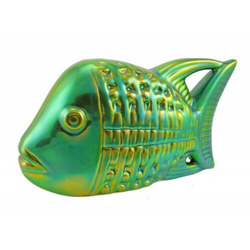 Zsolnay Iridescent Eosin Fish Figurine