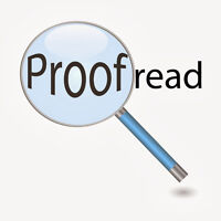 Proofreading, Editing, Rewriting
