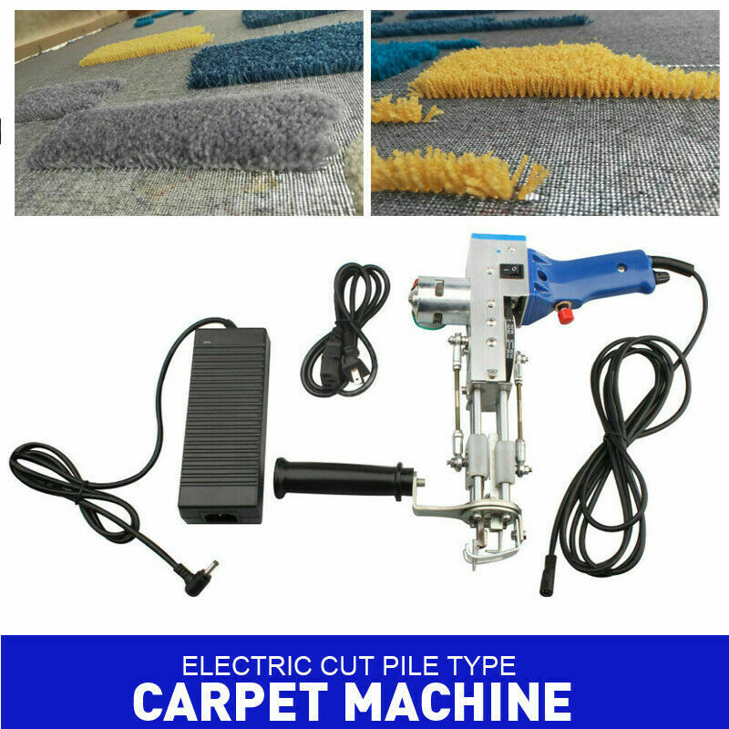 9-21mm Rug Tufting Gun,Electric Carpet Weaving Machine Cut Pile Flock Machine
