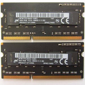 8GB RAM DDR3 for laptop, macbook and iMac
