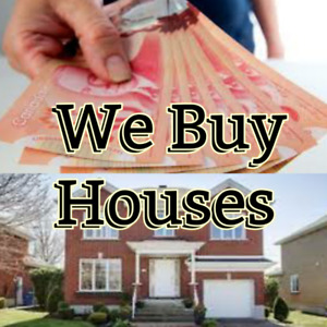 We Buy Houses! You Get Cash!