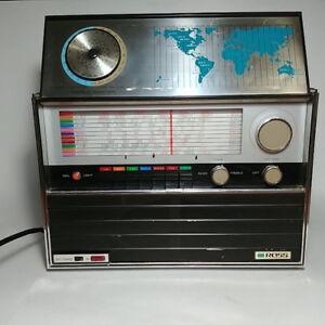 Working Vintage ROSS World Master Radio Receiver 14 Transistors