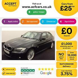 BMW 320 2.0 2009MY i SE FROM £25 PER WEEK!