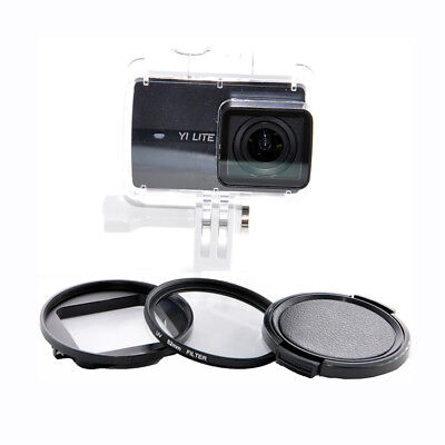 37/52mm CPL UV Close Up 10X Lens Filter Kit For Xiaoyi Yi Lite 4K Action Camera Camera Lite Kit