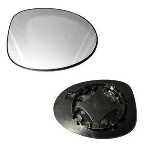 miroir glace retroviseur droit passager renault twingo 1 1993 2007 ebay. Black Bedroom Furniture Sets. Home Design Ideas