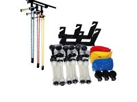 3 roller wall mounting brackets background support system for studio