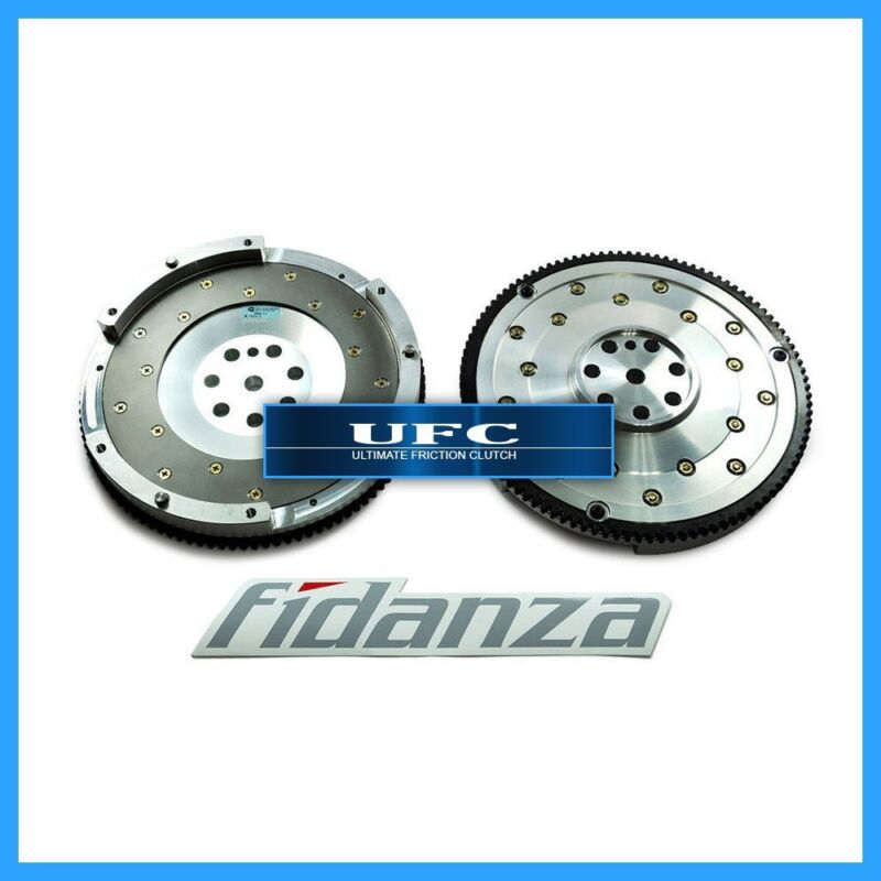 Fidanza Performance 161731 Flywheel-Aluminum PC Mit3 High Performance Lightweight with Replaceable Fricti