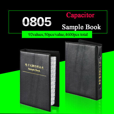 0805 Practical Smdsmt Capacitors Sample Book Components 0.5pf-10uf Assorted Kit