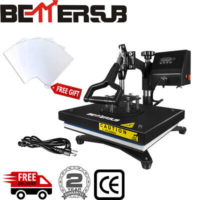 12 X 9 360 Degree T-shirt Heat Press Sublimation Transfer Machine Swing Away