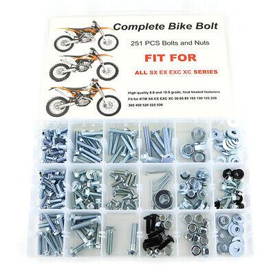 Plastic Kit Polisport OE 90103 For KTM 125 EXC 200 250 300 400-2006 450 525