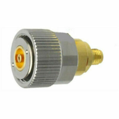 1pc Sma Female To Apc7 Straight Rf Connector Adapter Impedance 50 Ohm