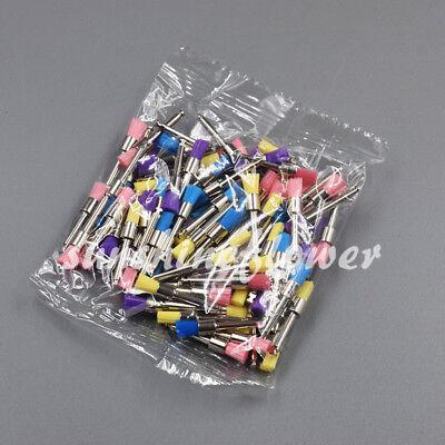 100 Pcs Box Polishing Brush Dental Disposable Polisher Prophylaxis Brushes Flat