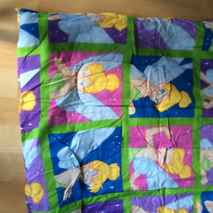 Disney Tinkerbell Twin Duvet and 2 pillow cases - $35