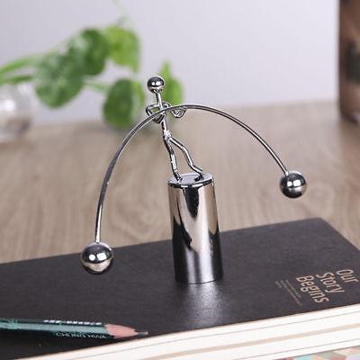 Zealous Balance Weightlifting Iron Man Swing Gift  Office Pendulum Accessory