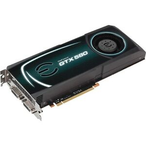 Carte GTX 580 avec 1,5 Gigs ddr5, Condition A-1, UNE VRAIE BOMBE
