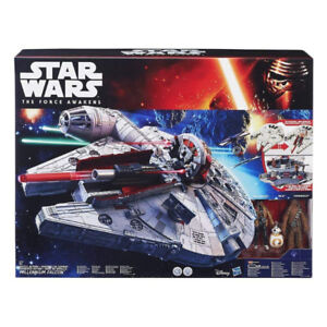 NEW Star Wars- The Force Awakens Battle Action Millennium Falcon