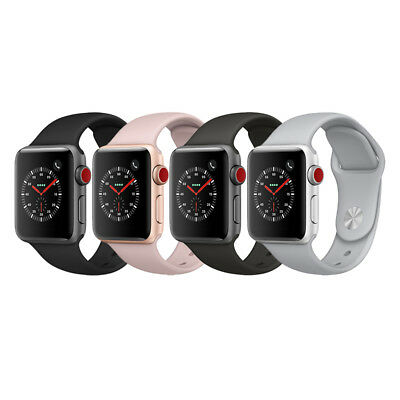 Apple Watch Series 3 Gps   Cellular Aluminum 38Mm Case With Sport Loop Or Band