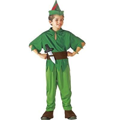 Kinder Kostüm - Robin Hood - Peter Pan Jungen Kostüm Räuber Bogenschütze Jäger