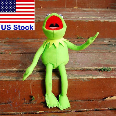 """18"""" New Kermit The Frog Sesame Street Muppet Frog Plush Toy with Iron Indside"""